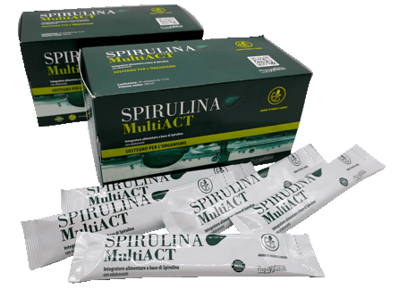 spirulina multi act liquida offerta